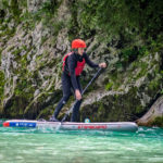 Whitewater paddleboarding on the Soca river (2)