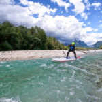 Whitewater paddleboarding on the Soca river (3)