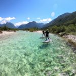 Whitewater paddleboarding on the Soca river (4)