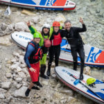 Bovec SUP Paddleboarding whitewater sup Stand Up Paddling tour