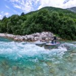 Whitewater paddleboarding on the Soca river (7)