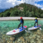 Whitewater paddleboarding on the Soca river (8)
